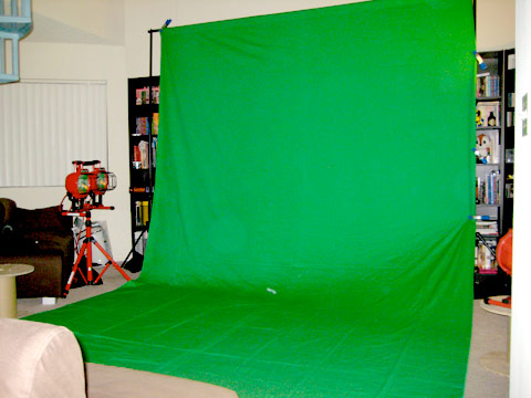 Living Room Greenscreen Studio